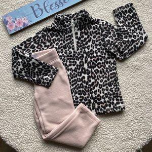 Children's Place Fleece Matching Set